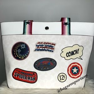 Coach X Marvel Large Tote Bag